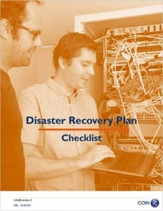 Disaster Recovery Plan Checklist Template