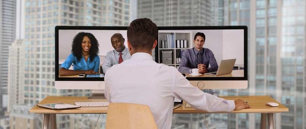 Werken op afstand tijdens coronacrisis via videobellen
